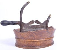 RARE 18TH CENTURY BETEL NUT CUTTER WITH TRAY