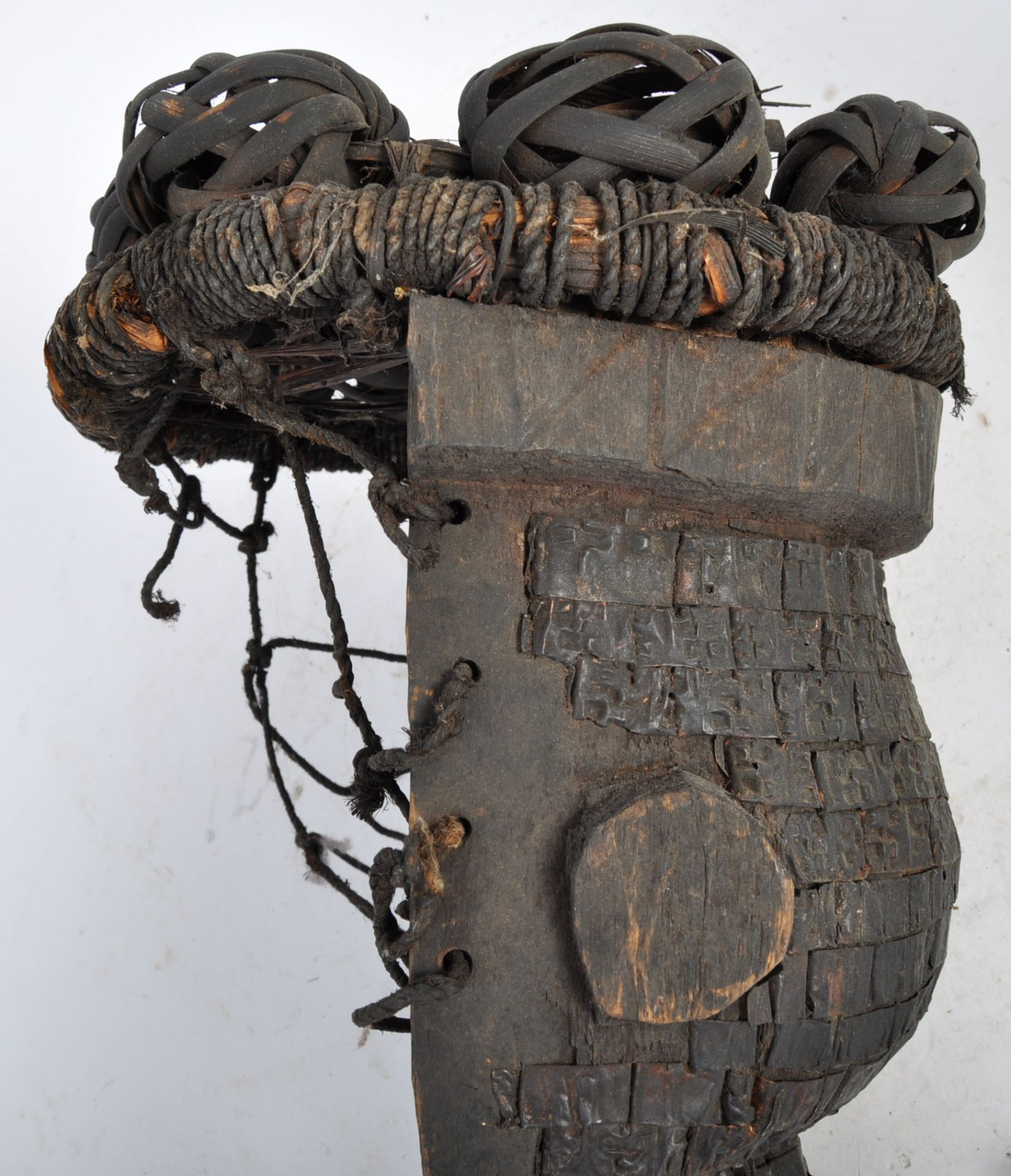 Los 295 - TRIBAL ANTIQUITIES - AFRICAN CARVED SALAMPASU CONGOLESE MASK