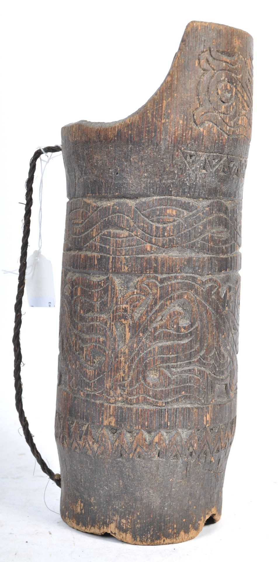 Los 551 - TRIBAL ANTIQUITIES - 19TH CENTURY INDONESIAN HEADHUNTER'S QUIVER