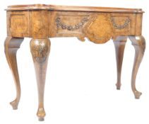 19TH CENTURY DUTCH WALNUT SIDE TABLE / SERVING TABLE