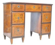 STUNNING 18TH CENTURY ITALIAN WALNUT KINGWOOD DESK