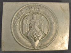 WWII SECOND WORLD WAR NAZI GERMAN BELT BUCKLE