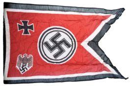 WWII SECOND WORLD WAR RELATED WEHRMACHT FLAG