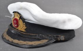 ORIGINAL BRITISH MERCHANT NAVY CAPTAINS PEAKED CAP