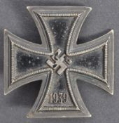 WWII SECOND WORLD WAR NAZI IRON CROSS BADGE