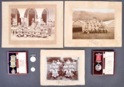 WWI MEDAL AND EFFECTS RELATING TO PRIVATE IN OX & BUCKS LI