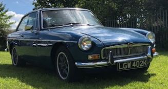 ORIGINAL 1972 MGB GT 1798CC SPORTS CAR - AN ICON OF MOTORING