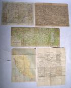COLLECTION OF ASSORTED MAPS - WWI & WWII RELATED