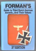 RARE FORMAN'S GUIDE TO THIRD REICH GERMAN AWARDS