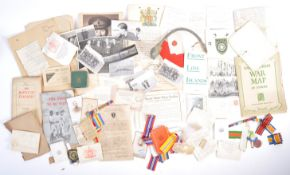 LARGE COLLECTION OF WWII EPHEMERA & COLLECTABLES
