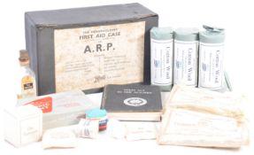 ORIGINAL WWII SECOND WORLD WAR A.R.P FIRST AID BOX