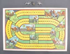 WWII RAF POW CAMP BOARD GAME ' HORSE RACING ' BELO