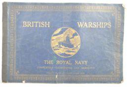 BRITISH WARSHIPS - THE ROYAL NAVY ILLUSTRATED & DE