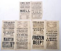 VICTORIAN EPHEMERA COLLECTION - INCREDIBLY RARE CHARLES DICKENS POSTER