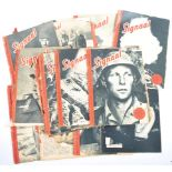 COLLECTION OF WWII DUTCH ' SIGNAAL ' MAGAZINES