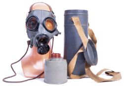 RARE ORIGINAL WWII THIRD REICH NAZI GERMAN INFANTRY GAS MASK