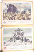 PAIR OF ORIGINAL WWII SECOND WORLD WAR VICTORY PRI
