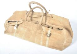 COLLECTION OF WWII BRITISH MILITARY ISSUE KIT BAG
