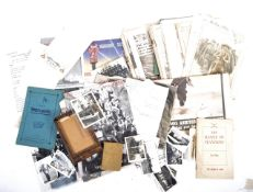 COLLECTION OF WWII SECOND WORLD WAR EPHEMERA