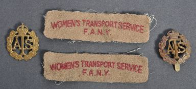 WWII SECOND WORLD WAR ' FEMALE ' SERVICE RELATED I