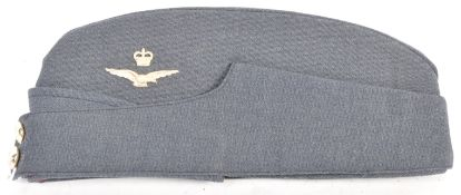 20TH CENTURY RAF OFFICER'S SIDE CAP / FORAGE CAP