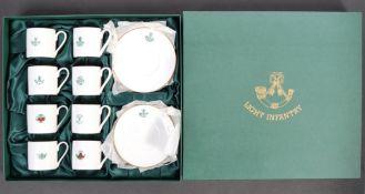 20TH CENTURY LIGHT INFANTRY PRESENTATION TEA SERVICE