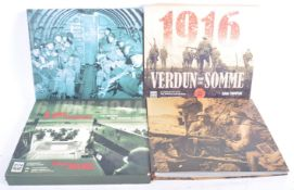 TWO IMPERIAL WAR MUSEUM ISSUED BOOKS - D-DAY AND 1916