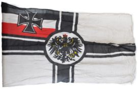 WWI FIRST WORLD WAR DATED IMPERIAL GERMAN FLAG