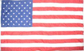LARGE VINTAGE 50 STAR AMERICAN FLAG - VIETNAM WAR