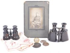 COLLECTION OF ASSORTED WWI FIRST WORLD WAR MILITAR