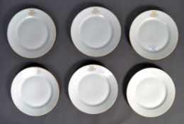 RARE SET OF SIX ORIGINAL WWII THIRD REICH LABOUR PLATES
