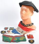 COLLECTION OF WWII FREE FRANCE RELATED ITEMS - BER
