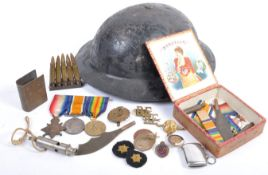 INCREDIBLE WWI FIRST WORLD WAR MEDAL GROUP & EFFECTS - ROYAL ENGINEERS