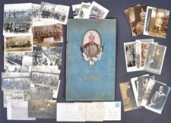 INCREDIBLE WWI FIRST WORLD WAR GERMAN POSTCARD ALBUM