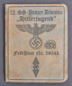 THIRD REICH GERMAN NAZI HITLER YOUTH SOLDIER'S ID
