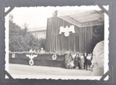 1930'S GERMAN CIVILIAN PHOTOGRAPH ALBUM - HITLER Y