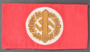 ORIGINAL WWII SECOND WORLD WAR NAZI SA SPORTS BADGE ARM BAND