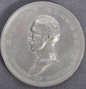 ANTIQUE BATTLE OF WATERLOO 1815 COMMEMORATIVE MEDALLION