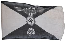 WWII SECOND WORLD WAR RELATED WAFFEN SS PARTY FLAG