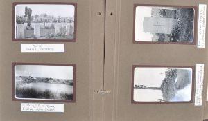 POST-WWI FIRST WORLD WAR PHOTOGRAPH ALBUM OF BELGIUM