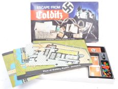 VINTAGE WWII INTEREST ' ESCAPE FROM COLDITZ ' BOARD GAME