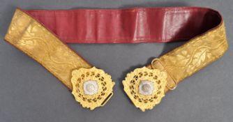 VICTORIAN SCOTS GUARD REGIMENT DRESS BELT