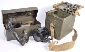 ORIGINAL WWII SECOND WORLD WAR FIELD TELEPHONE AND