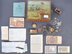 COLLECTION OF EFFECTS RELATING TO WWII RAF AIRMAN MERRICK