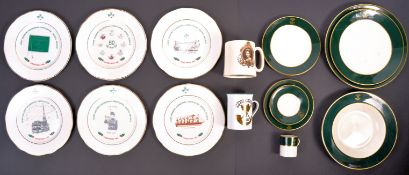 COLLECTION OF SOMERSET LIGHT INFANTRY CERAMICS