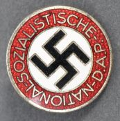 ORIGINAL WWII NSDAP THIRD REICH NAZI PARTY MEMBERS BADGE