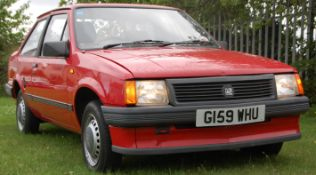 STUNNING UNRESTORED 1990 VAUXHALL NOVA MERIT 1200CC IN RED
