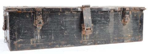 LARGE WWII GERMAN ARMY AMMUNITION / SMALL ARMS BOX