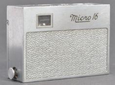 RARE ORIGINAL 1940'S OSS MICRO 16 SUBMINIATURE SPY