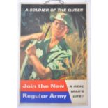 POST-WWII 1960'S ' JOIN THE ARMY ' BRITISH RECRUIT
